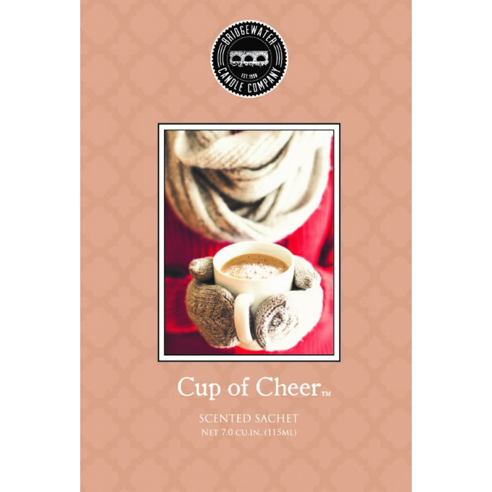 Bridgewater Candle Company - Scented Sachet - Cup of Cheer