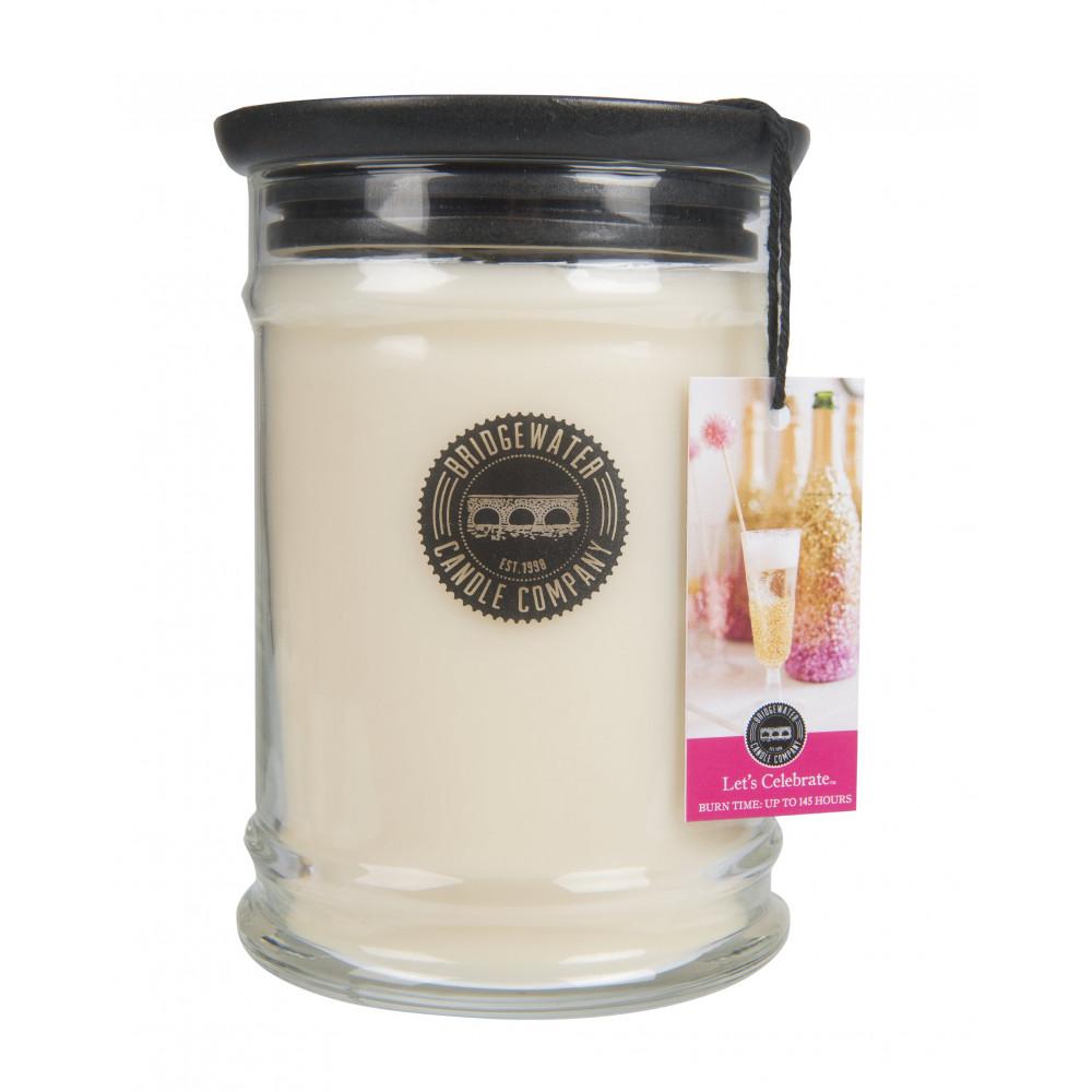 Bridgewater Candle Company - Candle - 18oz Large Jar - Let's Celebrate