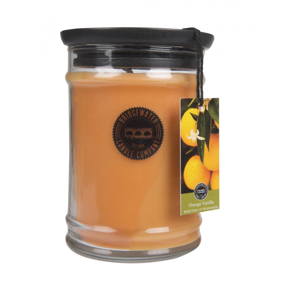 Bridgewater Candle Company - Candle - 18oz Large Jar - Orange Vanilla