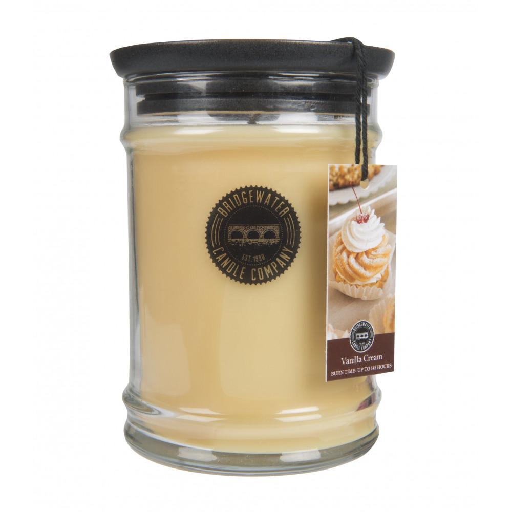 Bridgewater Candle Company - Candle - 18oz Large Jar - Vanilla Cream