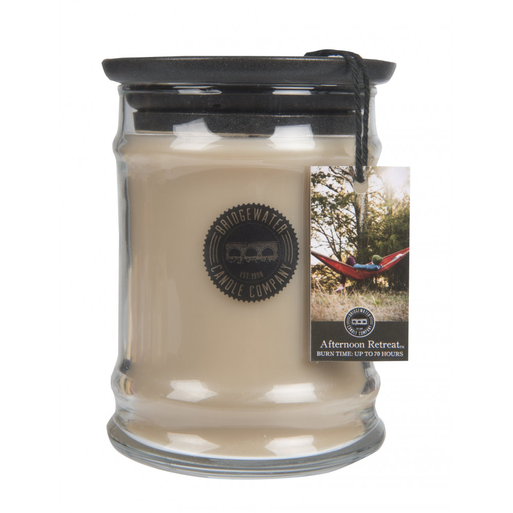 Bridgewater Candle Company - Candle - 8oz Small Jar - Afternoon Retreat