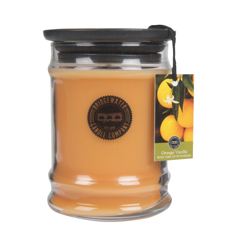Bridgewater Candle Company - Candle - 8oz Small Jar - Orange Vanilla