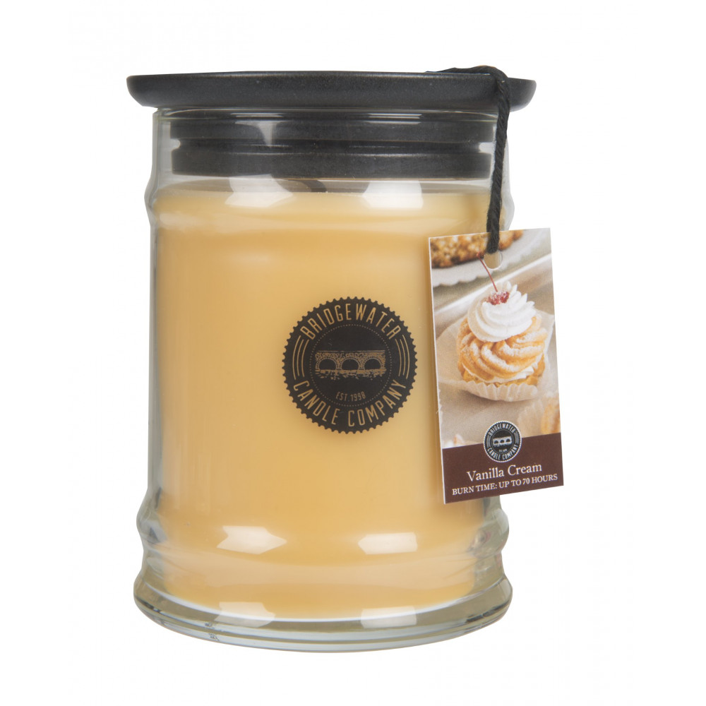 Bridgewater Candle Company - Candle - 8oz Small Jar - Vanilla Cream