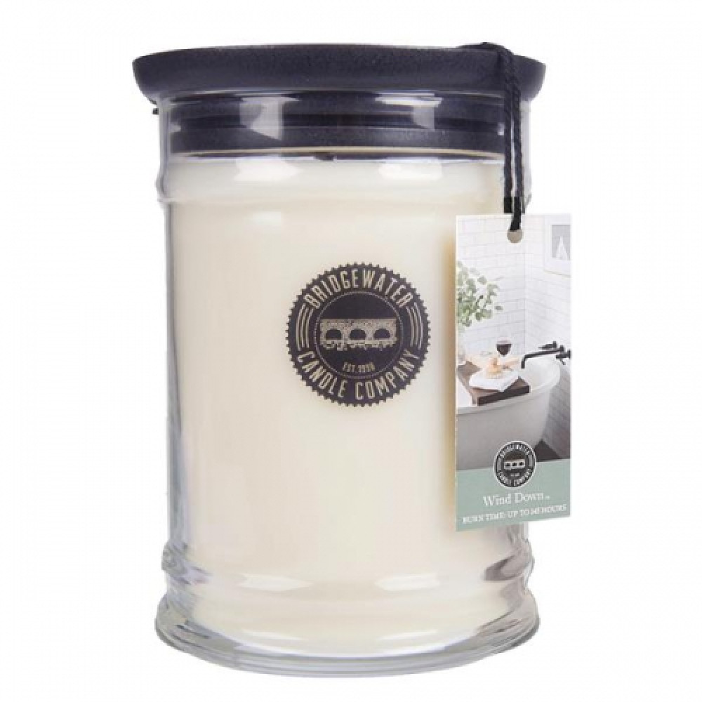 Bridgewater Candle Company - Candle - 18oz Large Jar - Wind Down
