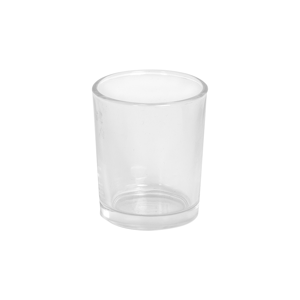 Glass for votive candle