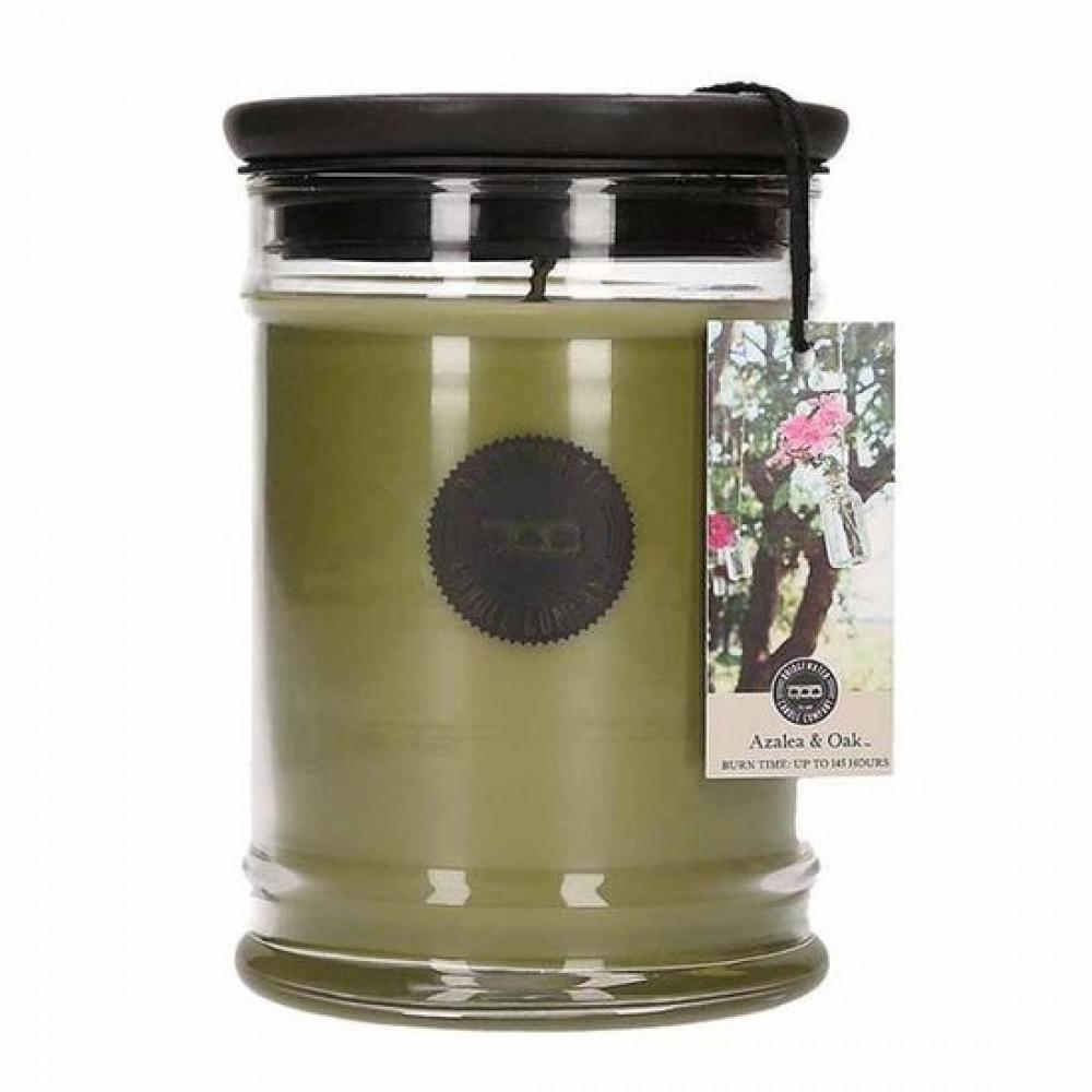 Bridgewater Candle Company - Kerze - 500g grosse Topf - Azalea & Oak