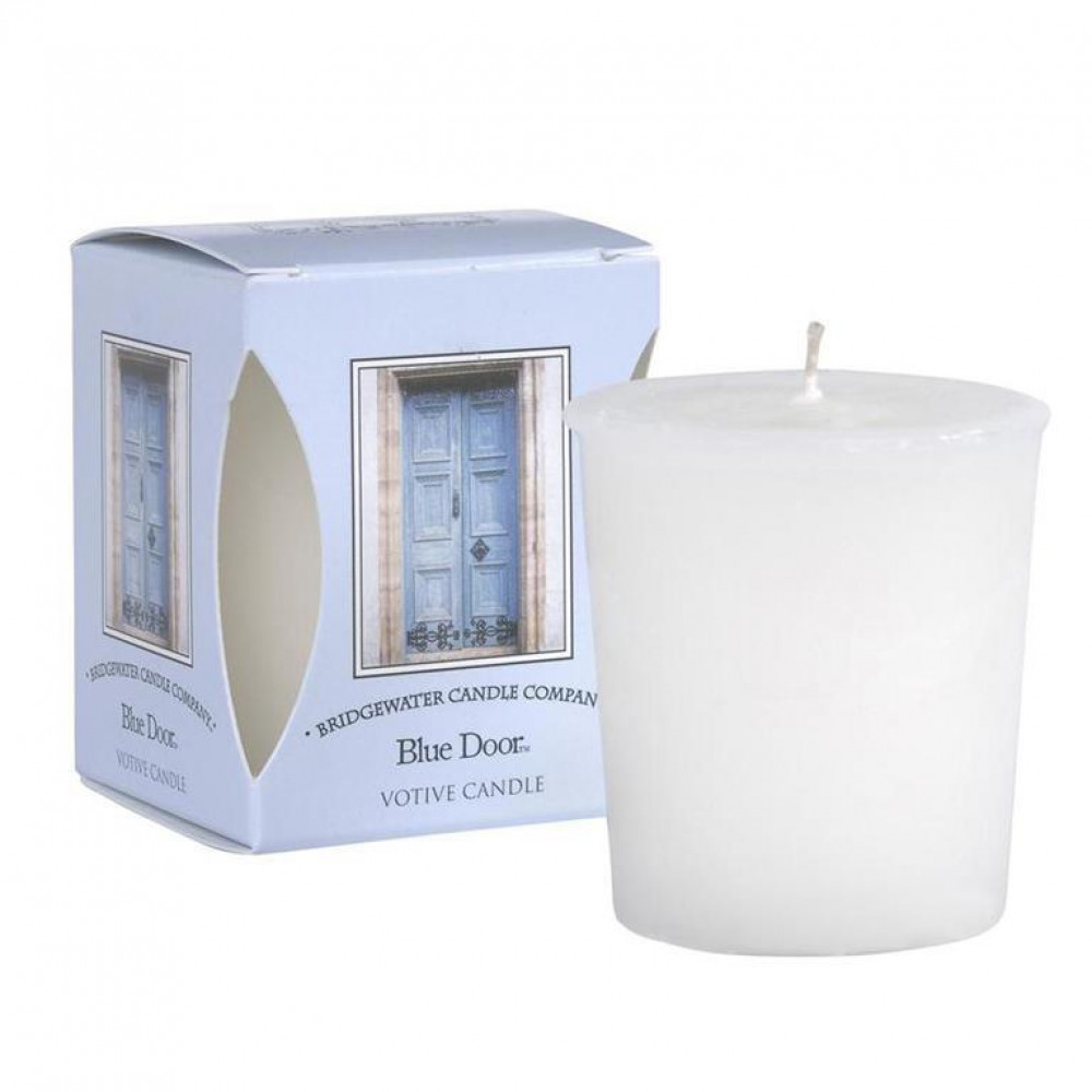 Bridgewater Candle Company - Votive Candle - Blue Door