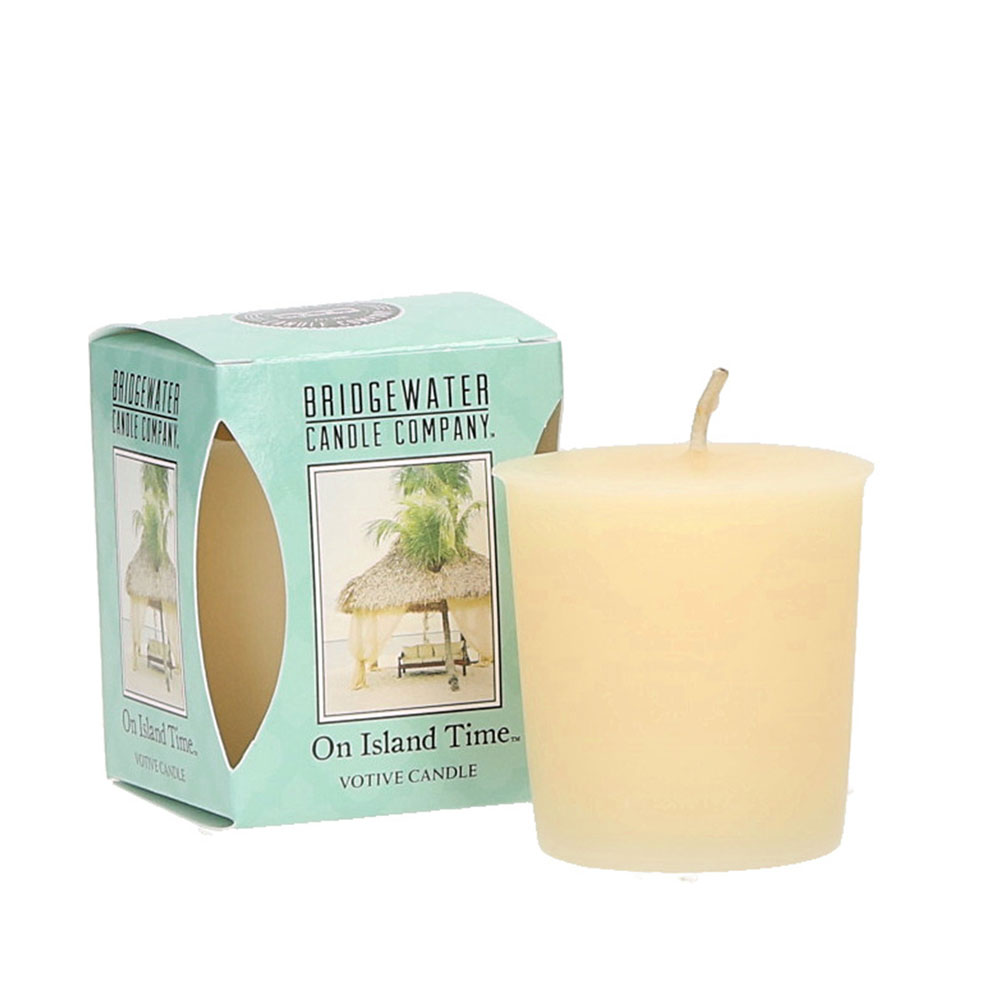 Bridgewater Candle Company - Votive Candle - On Island Time