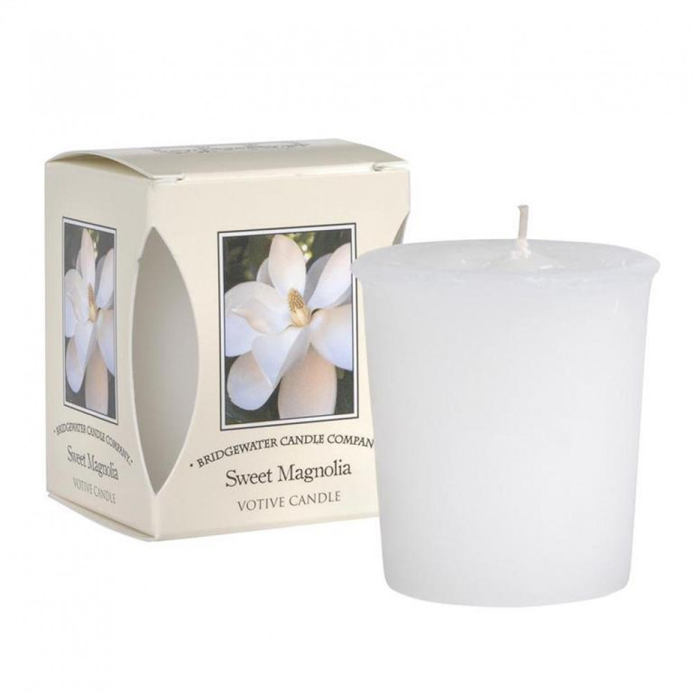 Bridgewater Candle Company - Votive Candle - Sweet Magnolia